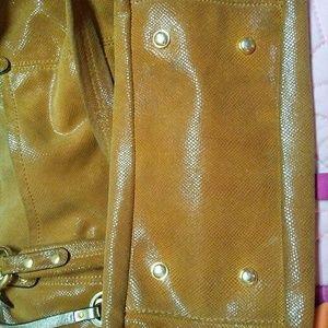 b. makowsky Bags - B. Makowsky Lizard Embossed Leather Hand Bag